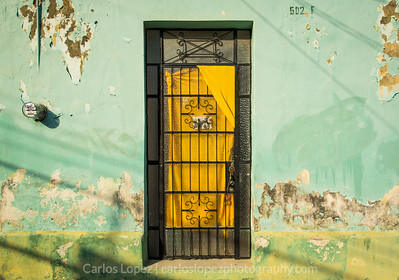 Calles de Merida,  Green #3