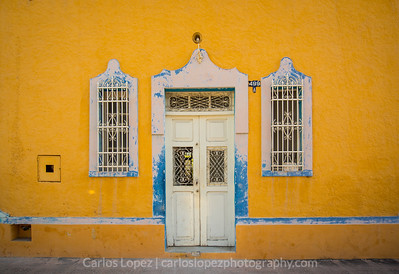 Calles de Merida,  Yellow #2