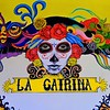 La Catrina restaurant, located behind Pyramid of the Moon.