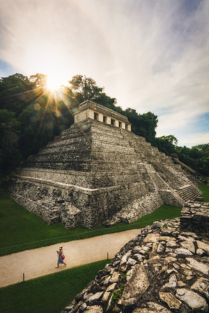 Mayan Pyramid in Palenque