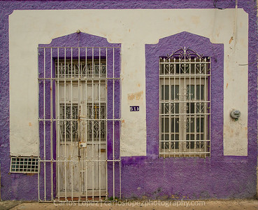 Calles de Merida,  Purple #1