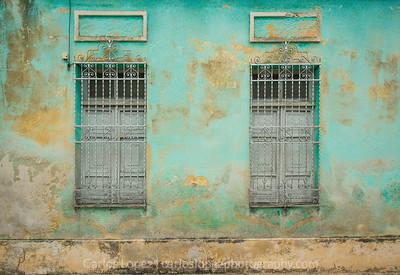 Calles de Merida,  Blue #6