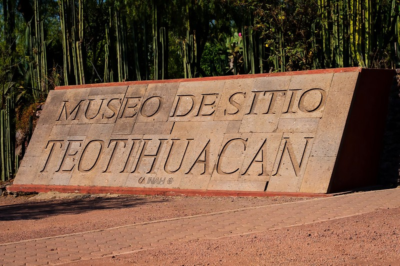Entrance to Teotihuacan.