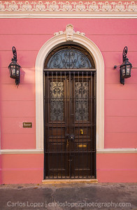 Calles de Merida,  Pink #2