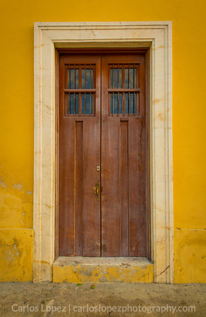 Calles de Merida,  Yellow #3