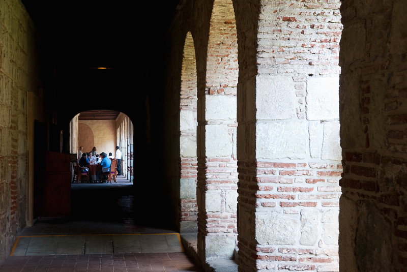 The Camino Real Oaxaca hotel, built in the 16th century as a convent, Oaxaca, Mexico.