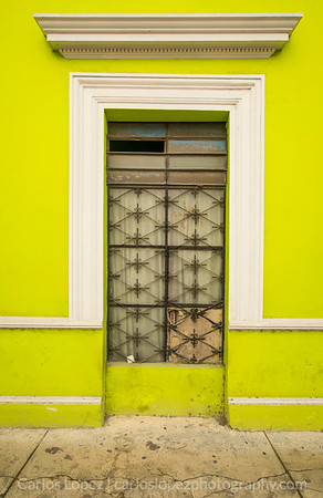 Calles de Merida,  Green #1
