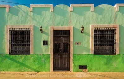 Calles de Merida,  Green #2