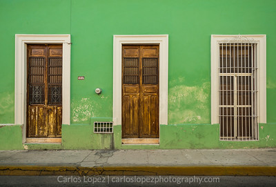 Calles de Merida,  Green Trio