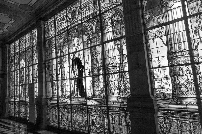 inside Chapultepec castle