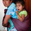 Mother and daughter  at the Thursday market, Zaachila, Mexico.