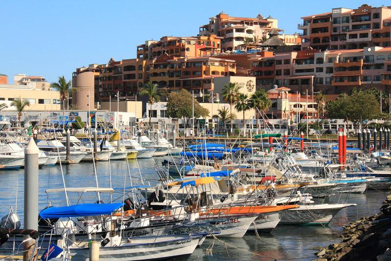 Marina in Cabo San Lucas, Mexico
