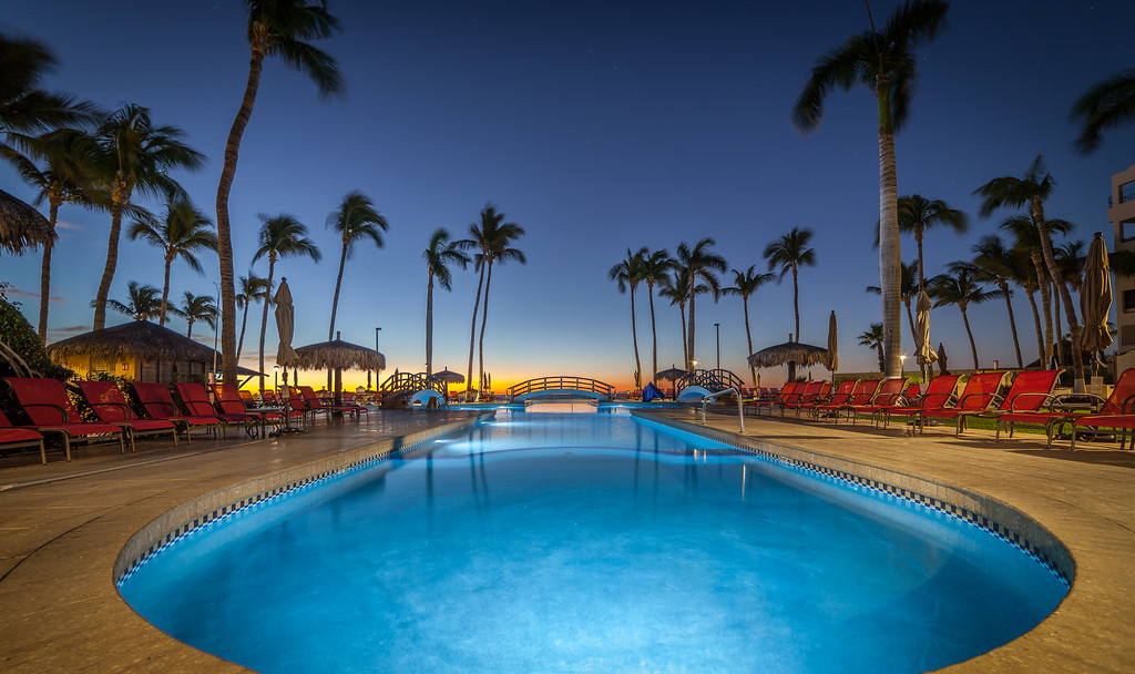The Pool at World Mark Coral Baja