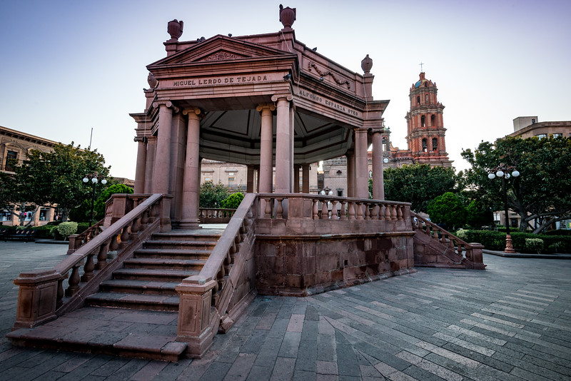 Plaza de Armas, San Luis Potosi.