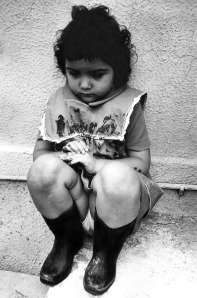 A Sad Little Girl (Mexico City)
