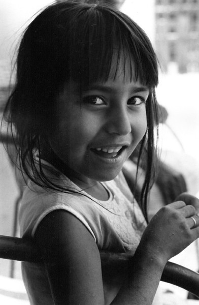 A young girl in Hermosillo (ca. 1972)