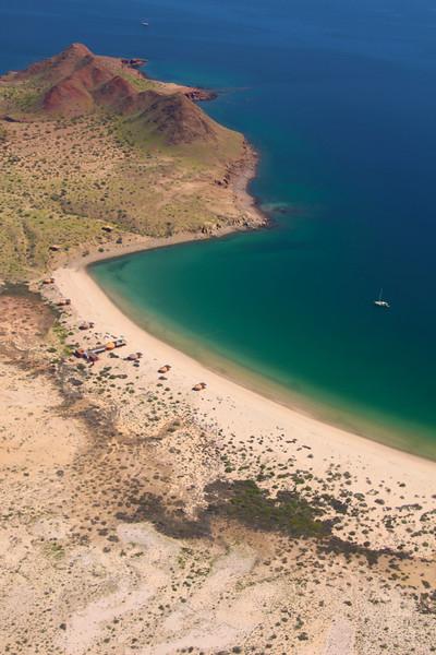 Las Animas Wilderness Retreat, Aerial View on Beach
