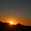 Las Animas Wilderness Lodge, Sunrise Over Yurts