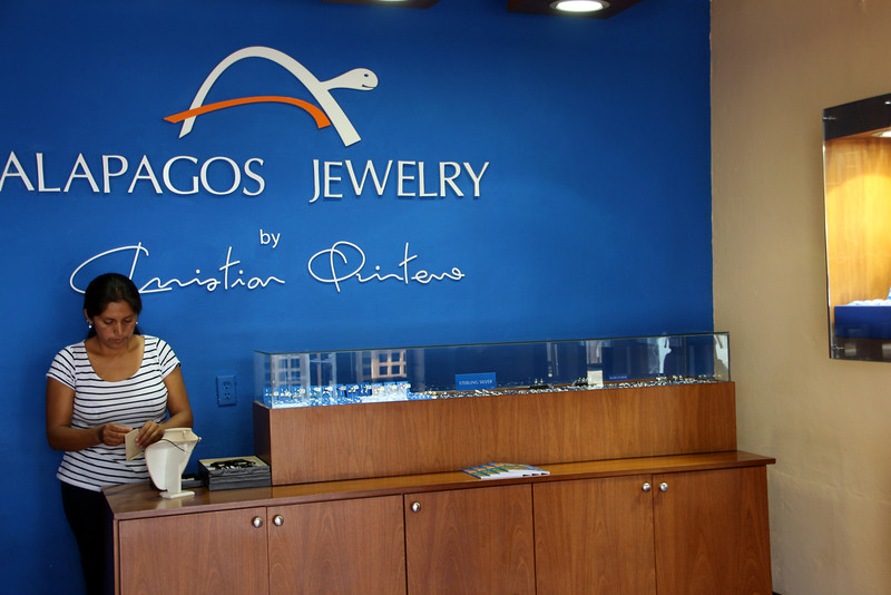 Galapagos Islands, Jewelry Shop, Puerto Ayora, Santa Cruz