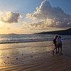 Galapagos Islands, Sunrise on Beach, Floreana