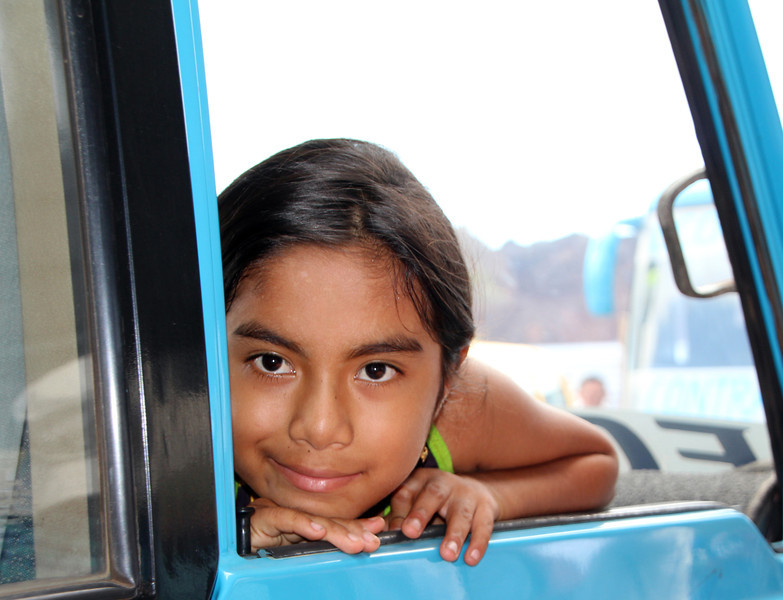 Galapagos Islands, Local Girl, Santa Cruz