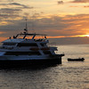Galapagos Islands, Ecoventura Yacht in Port, Puerto Baquerizo Morena
