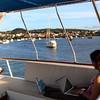 Galapagos Islands,  Ecoventura Cruise Deck, Puerto Baquerizo Morena