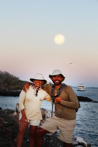 Galapagos Islands, Nature Guides, Cecibel & Gustavo