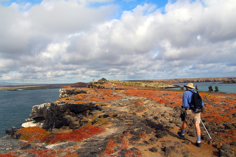 Galapagos Islands, Hiking, North Seymour Island