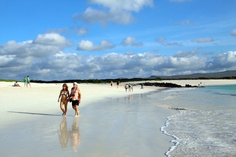Galapagos Islands, Strollers, San Cristobal Beach