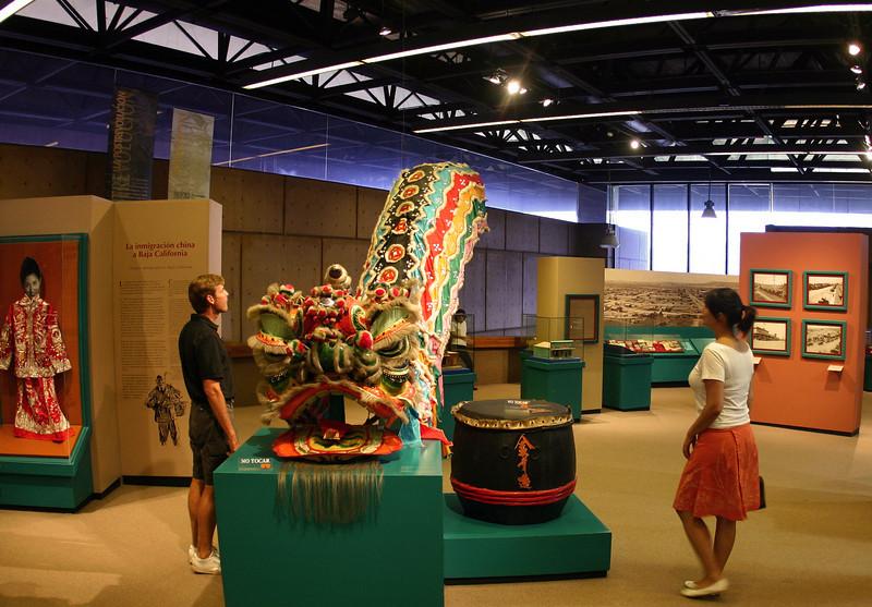 Tijuana, Museo de Los Californias, Chinese Exhibit