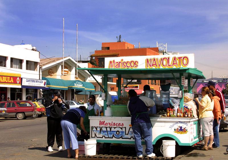 Tijuana, Seafood Kiosk