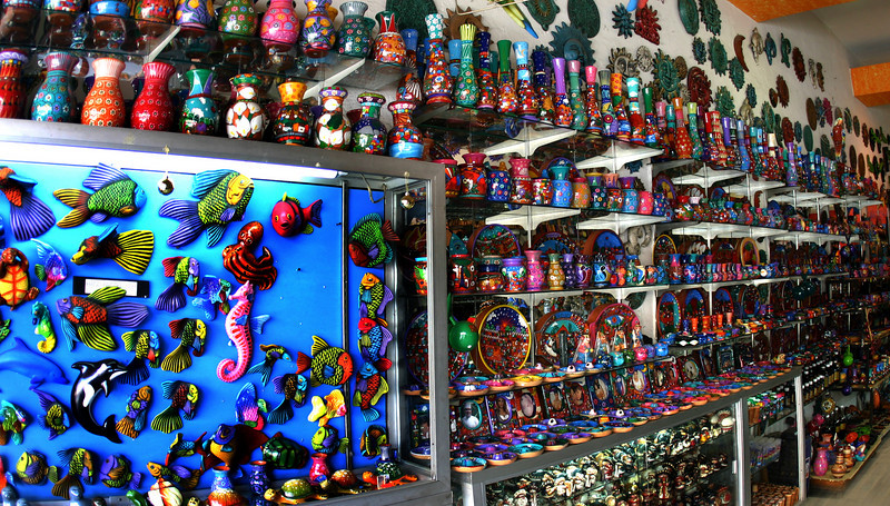 Tijuana, Ceramics shop