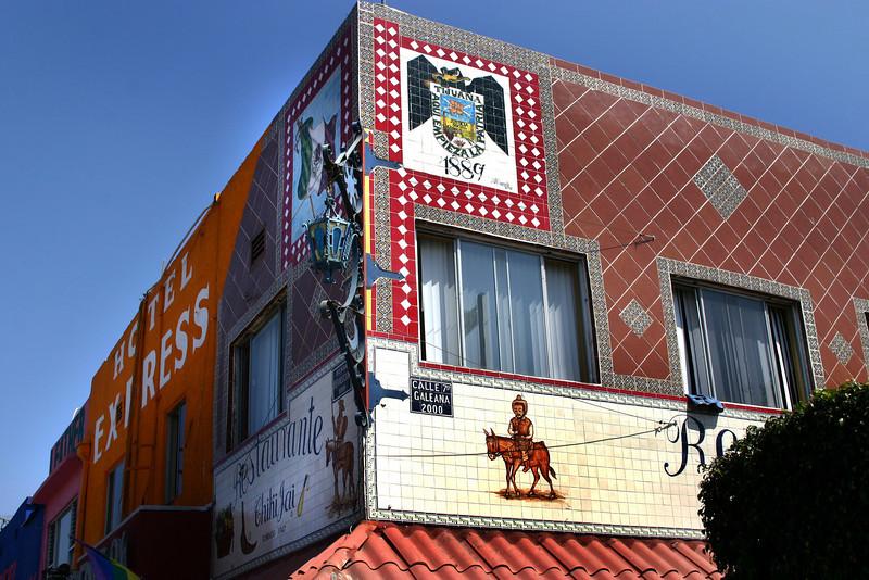 Tijuana, Historic Tile Building