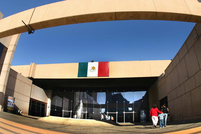 Tijuana, Museo de Los Californias Entrance