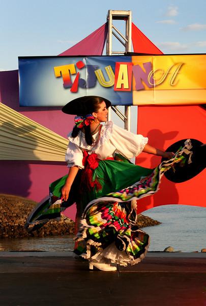 Tijuana, Colorful Folk Dancer