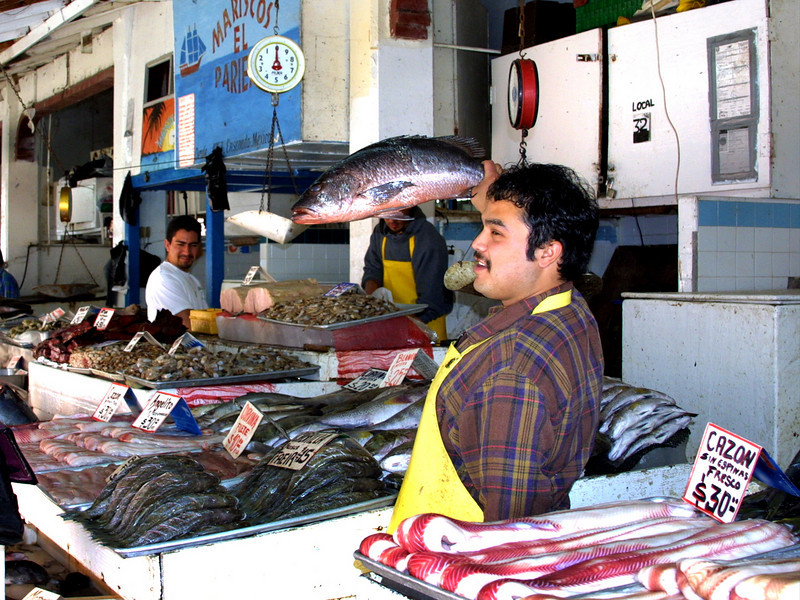 Ensenada, Fish Market