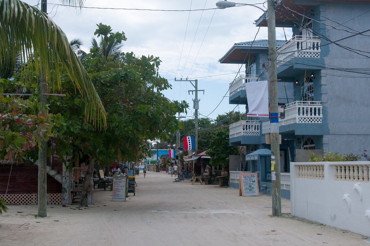 Village in Caye Caulker, Belize