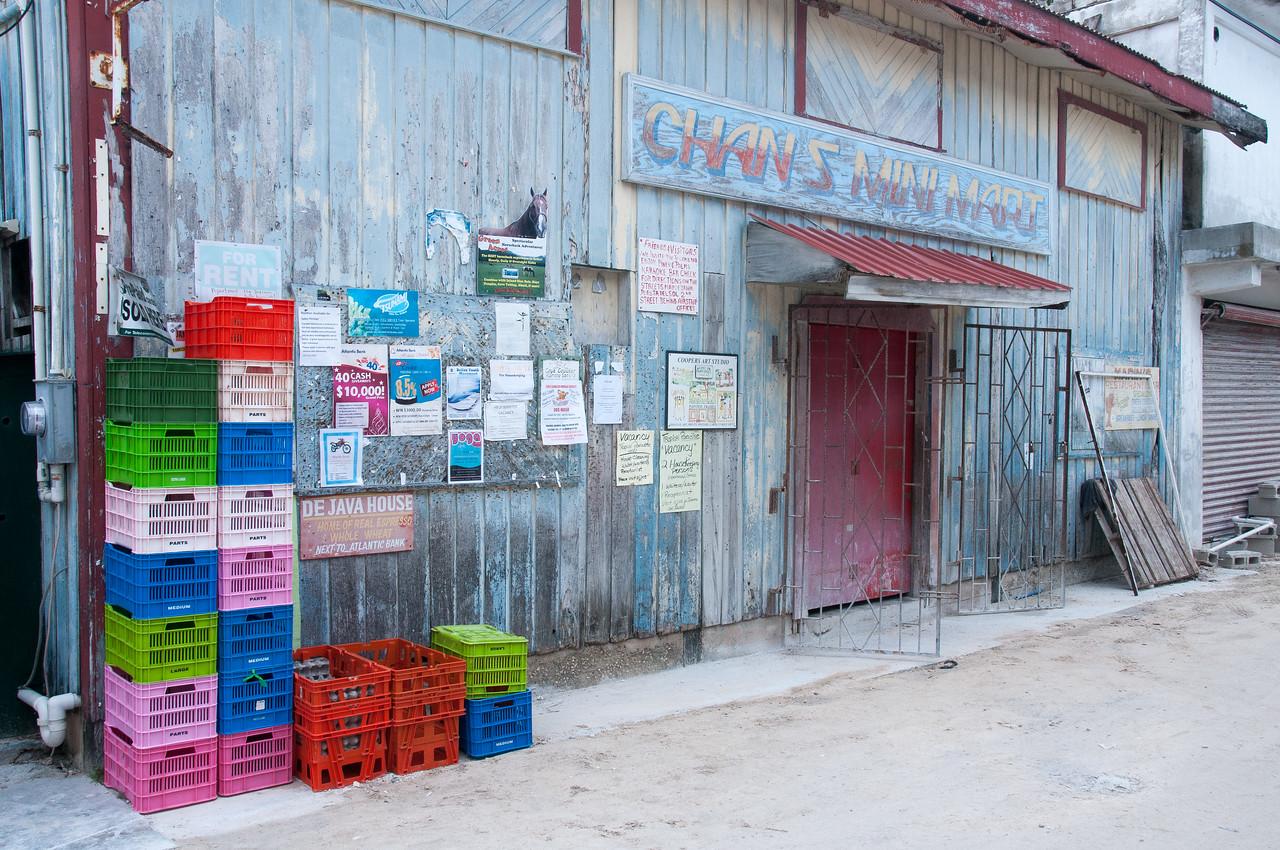 Storefront in Caye Caulker, Belize