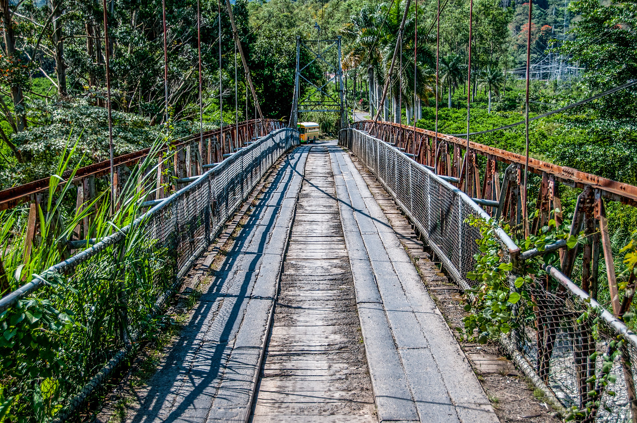 Bridge in Tapanti National Park, Costa Rica
