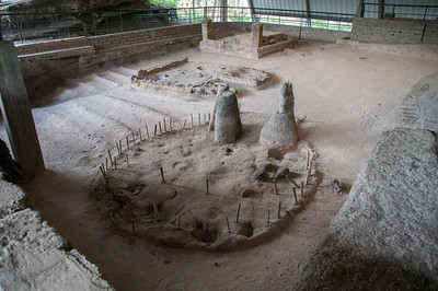 Remains of Mayan village buried in volcanic eruption - Joya de Ceren, El Salvador