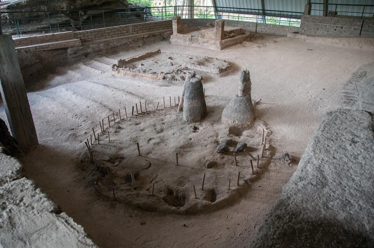 Remains of Mayan village buried in volcanic eruption - Joya de Ceren, El Salvador