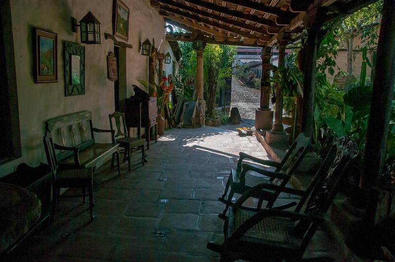 Village in Suchitoto, El Salvador
