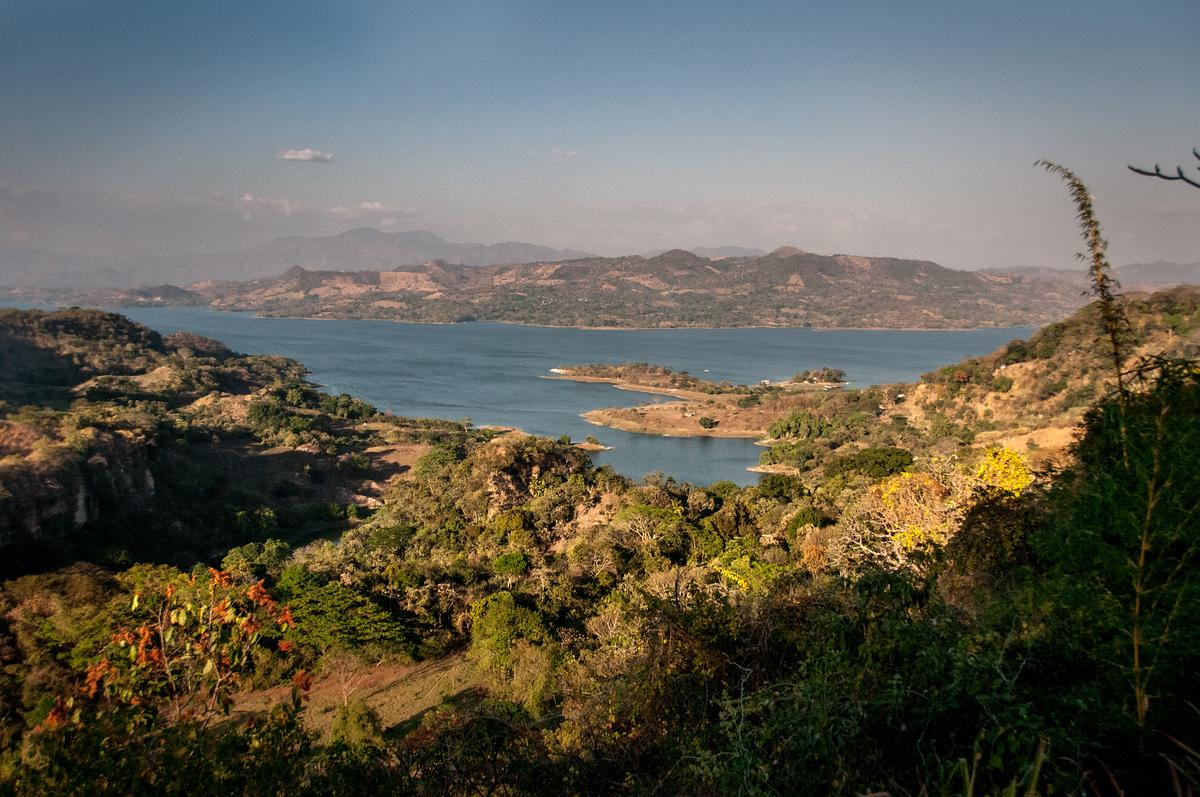Lake Suchitoto, El Salvador