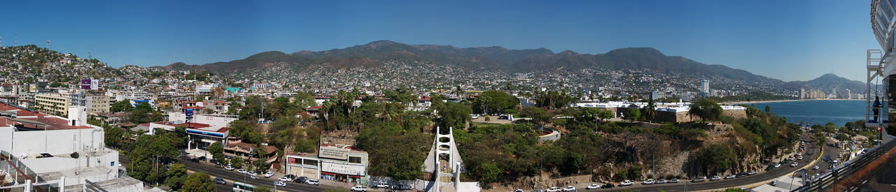 Panorama of Acapulco, Mexico