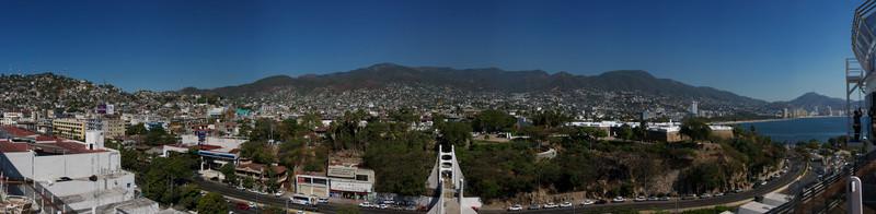 Panorama of Acapulco, Mexico
