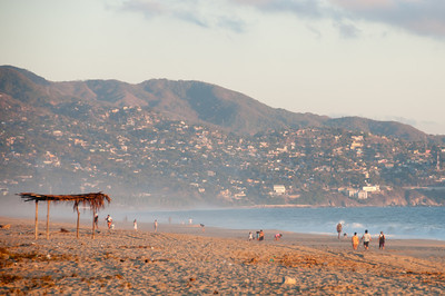 Beach in Acapulco, Mexico