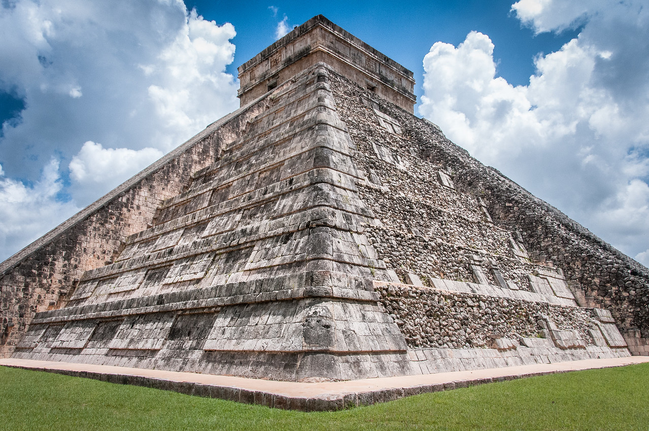 El Castillo in Chichen Itza, Mexico