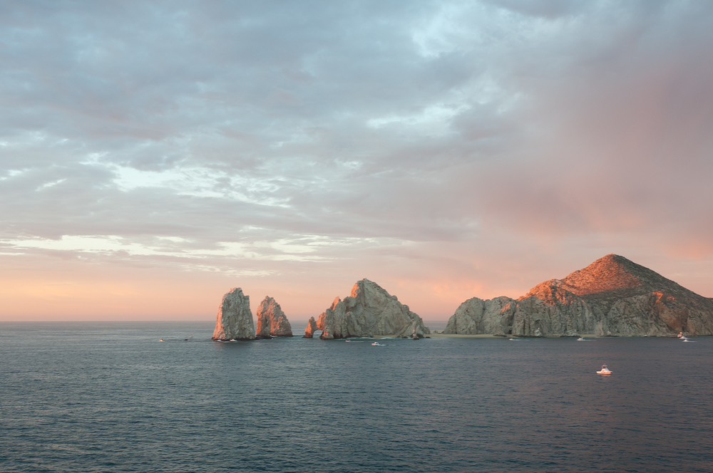Land's End, the southern most point of Baja Peninsula, Cabo San Lucas, Mexcio