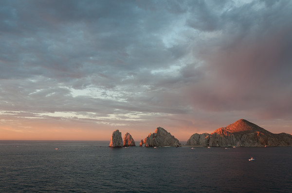 Land's End at sunrise in Cabo San Lucas, Mexico. Photo © Everything Everywhere